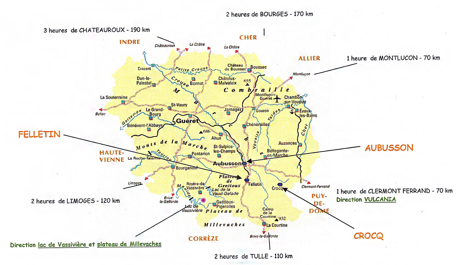 Carte de Crocq
